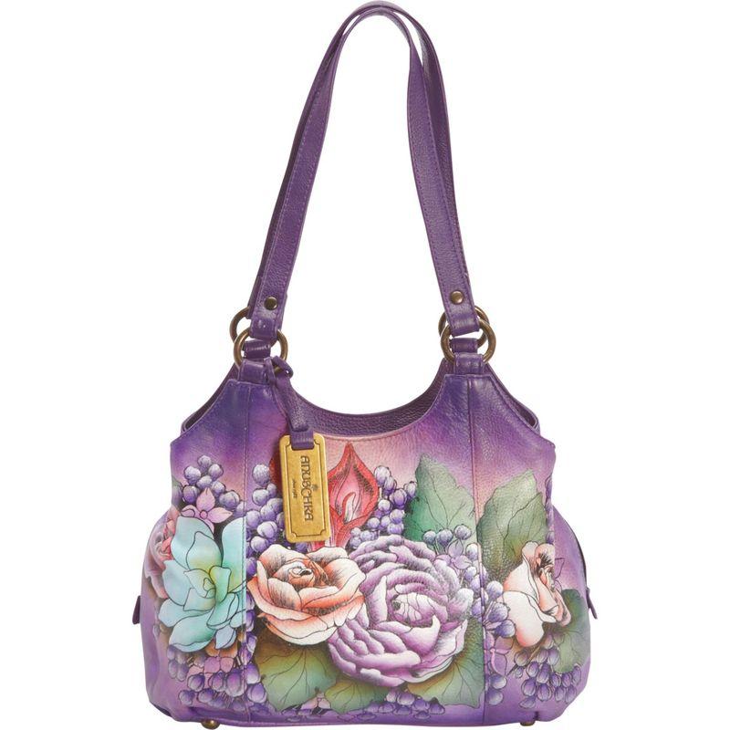 送料無料 サイズ交換無料 アヌシュカ メンズ バッグ ショルダーバッグ Lush Lilac アヌシュカ メンズ ショルダーバッグ バッグ Triple Compartment Medium Satchel Lush Lilac