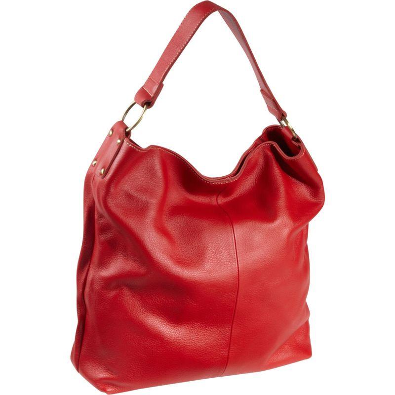 アメリ メンズ ハンドバッグ バッグ Cynthia Leather Hobo Red
