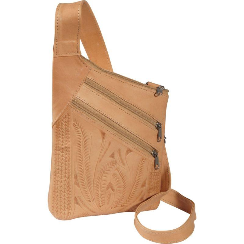 ロピンウェスト メンズ ボディバッグ・ウエストポーチ バッグ Cross Over Crossbody Bag Natural