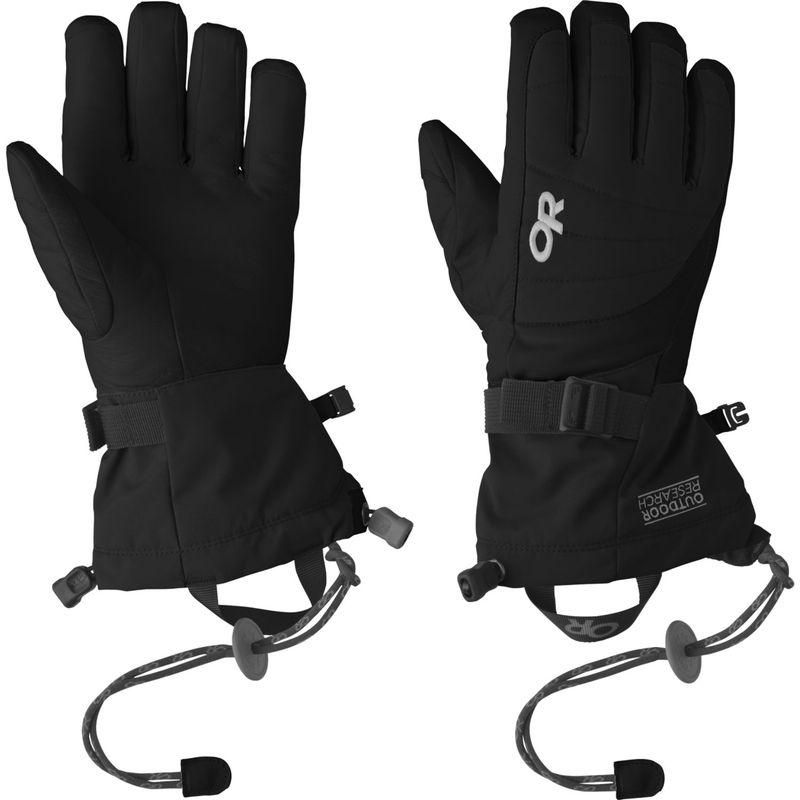 アウトドアリサーチ レディース 手袋 アクセサリー Revolution Gloves Women's L - Black