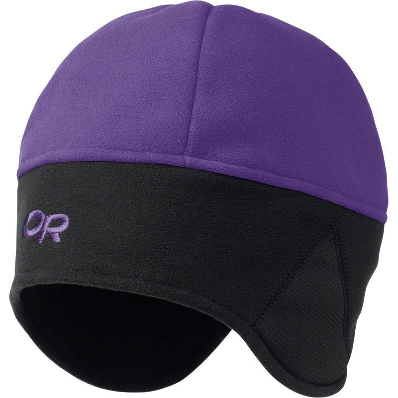 アウトドアリサーチ メンズ 帽子 アクセサリー Wind Warrior Hat S/M - Purple Rain/Black