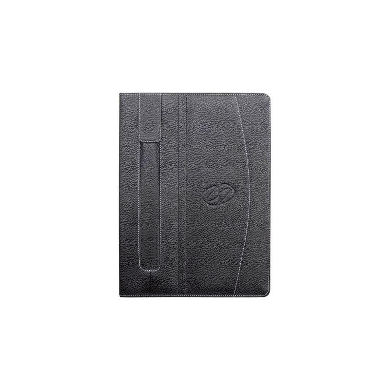 マックケース メンズ PC・モバイルギア アクセサリー Premium Leather iPad Air Folio Black