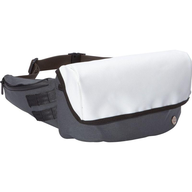 トーケン メンズ ボディバッグ・ウエストポーチ バッグ Cordura Classic Grand Army Waist Bag (S) Grey/White