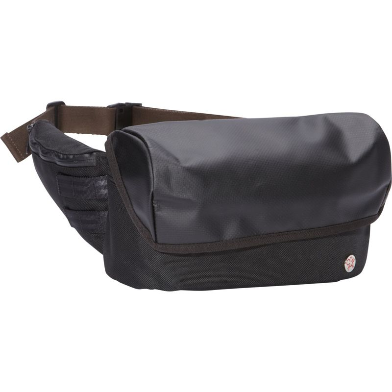 トーケン メンズ ボディバッグ・ウエストポーチ バッグ Grand Army Waist Bag Black