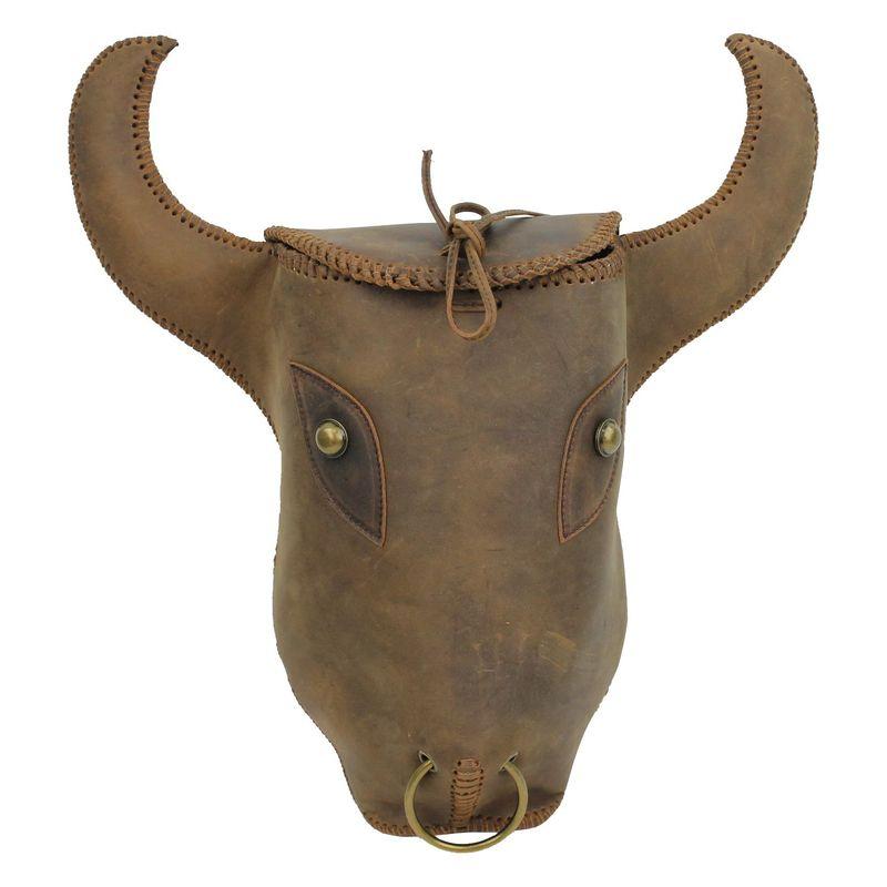 ヴァガボンドトラベラー メンズ バックパック・リュックサック バッグ Handmade Full Leather Backpack Brown