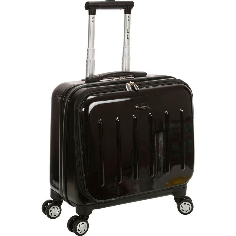 ロックランド メンズ スーツケース バッグ Revolution Rolling Computer Case Black