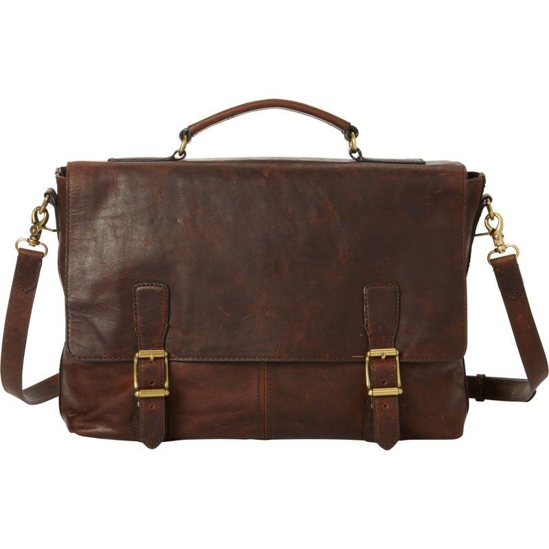 フライ メンズ ショルダーバッグ バッグ Logan Top Handle Bag Dark Brown