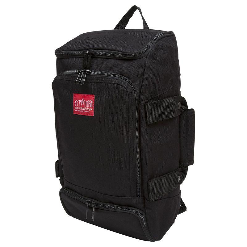 マンハッタンポーテージ メンズ バックパック・リュックサック バッグ Ludlow Convertible Backpack Jr Black
