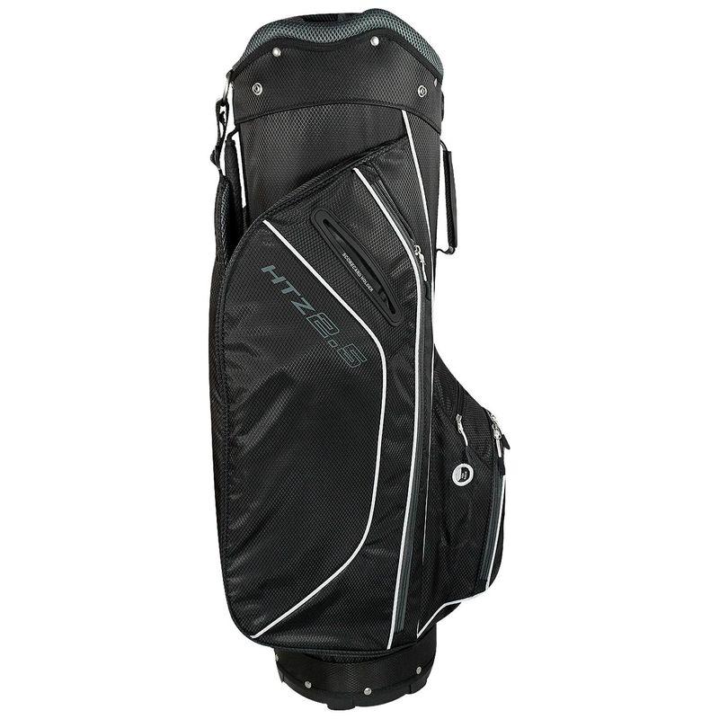 ホットジーゴルフ メンズ ボストンバッグ バッグ 2.5 Cart Bag Black/White