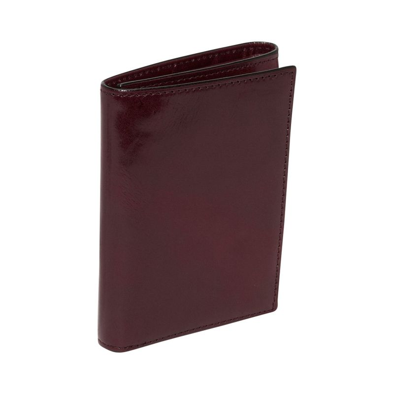 ボスカ メンズ 財布 アクセサリー Old Leather Double ID Trifold Dark Brown