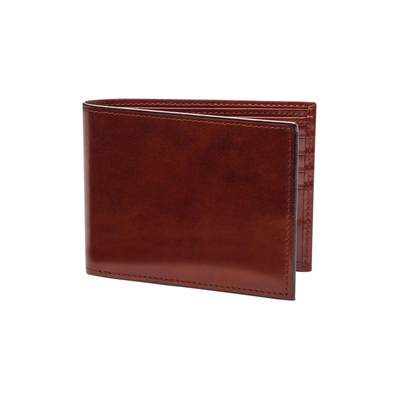 ボスカ メンズ 財布 アクセサリー Old Leather Continental I.D. Wallet Dark Brown