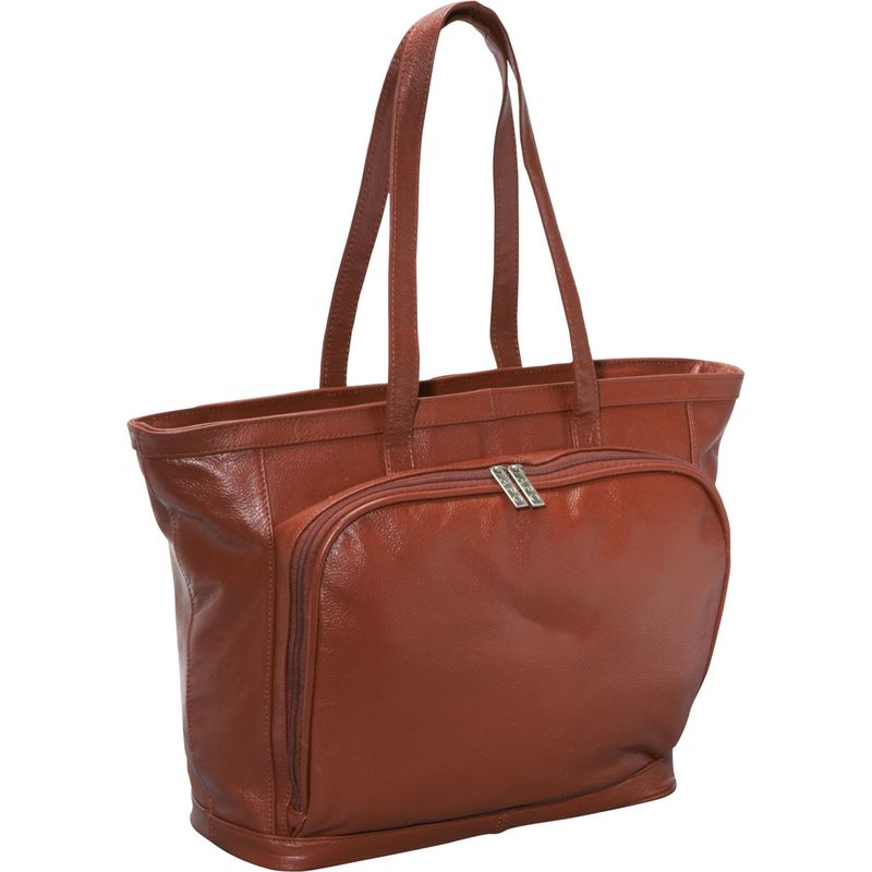 アメリ メンズ スーツケース バッグ Cosmopolitan Leather Tote Brown