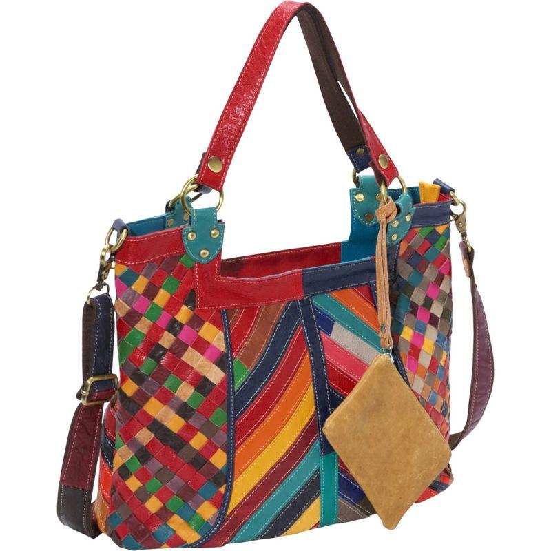 アメリ メンズ ショルダーバッグ バッグ Hazelle Leather Shoulder Bag Rainbow