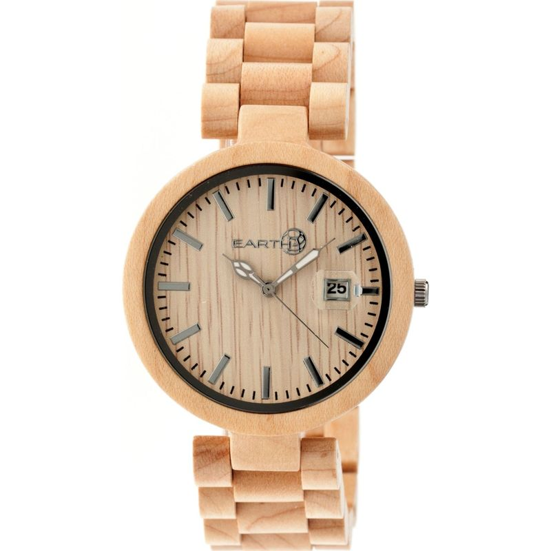 アースウッド メンズ 腕時計 アクセサリー Stomates Watch Khaki/Tan