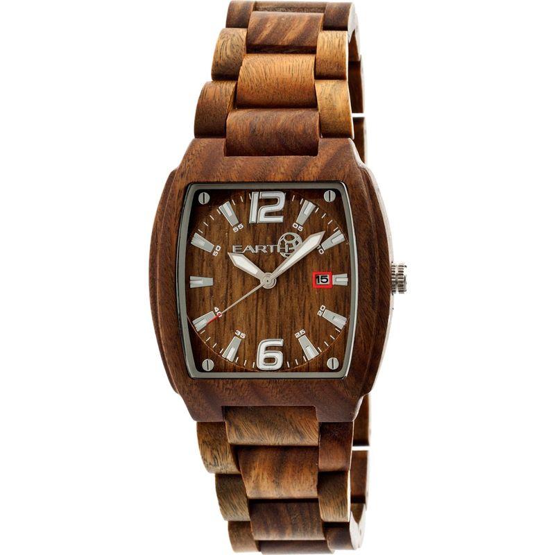 アースウッド メンズ 腕時計 アクセサリー Sagano Watch Green
