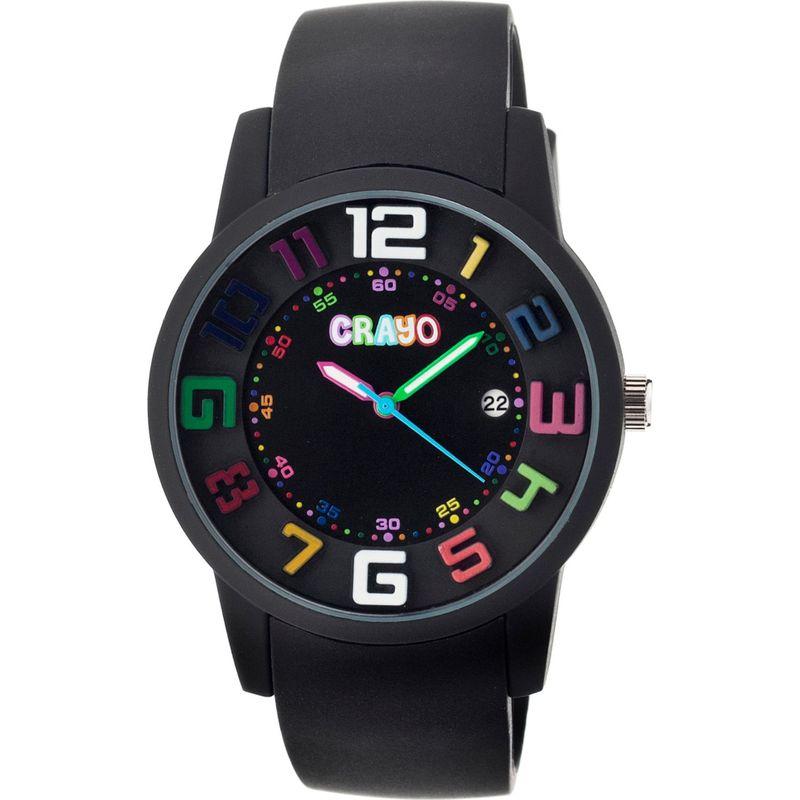 クラヨ メンズ 腕時計 アクセサリー Festival Watch Black