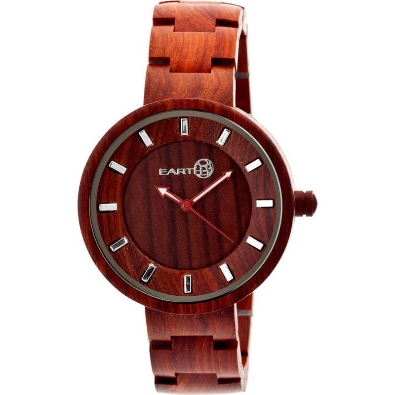 アースウッド メンズ 腕時計 アクセサリー Branch Wood Unisex Watch Red