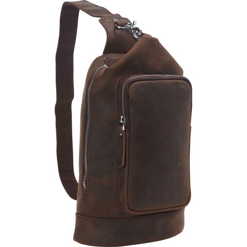 ヴァガボンドトラベラー メンズ ショルダーバッグ バッグ Cowhide Leather Chest Pack Travel Companion Distress