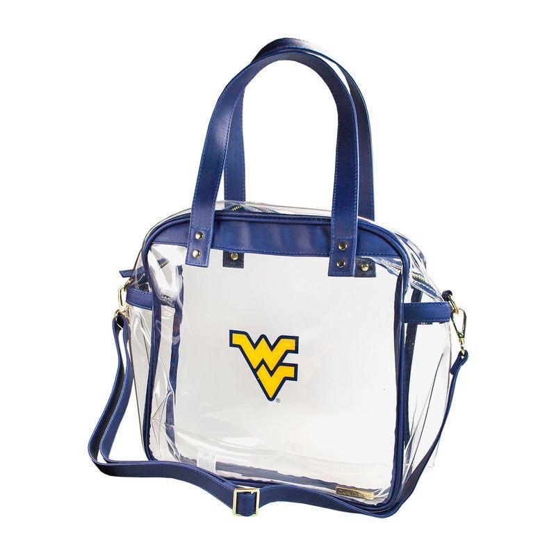 カプリデザイン メンズ トートバッグ バッグ Carryall NCAA Tote - Licensed West Virginia University