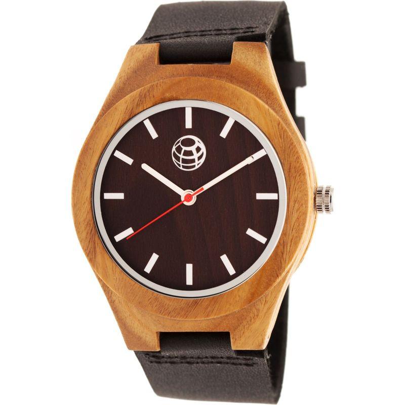 アースウッド メンズ 腕時計 アクセサリー Aztec Unisex Watch Light Brown
