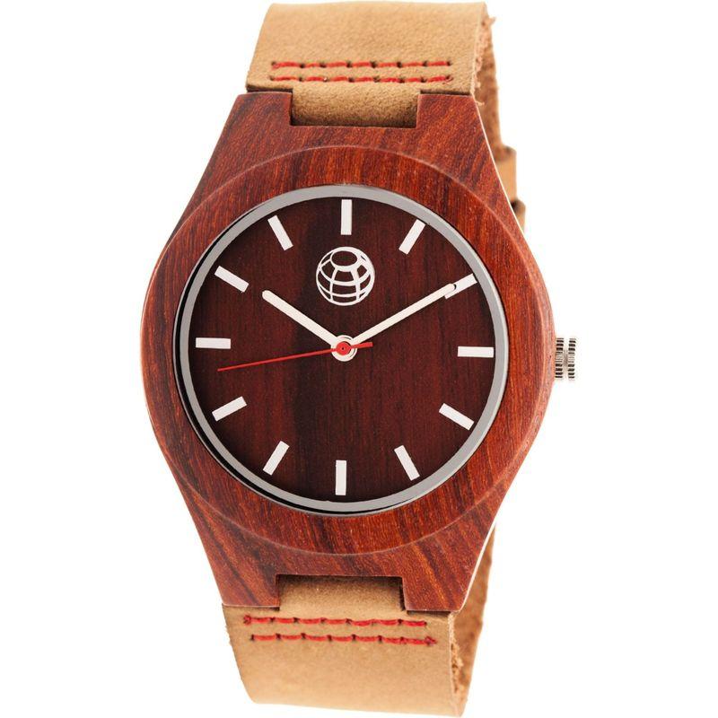 アースウッド メンズ 腕時計 アクセサリー Aztec Unisex Watch Red