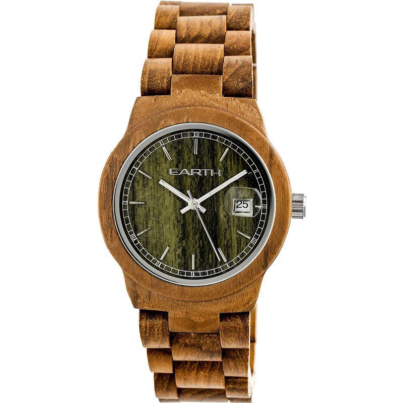 アースウッド メンズ 腕時計 アクセサリー Biscayne Unisex Watch Olive