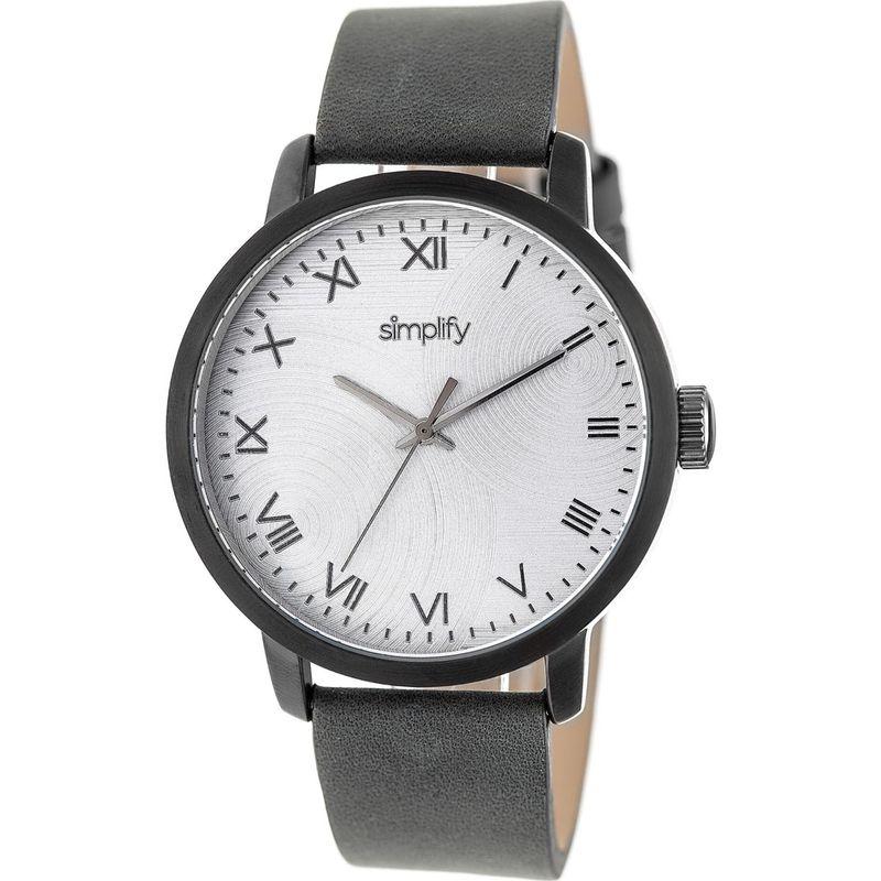 シンプリファイ メンズ 腕時計 アクセサリー The 4200 Unisex Watch Charcoal