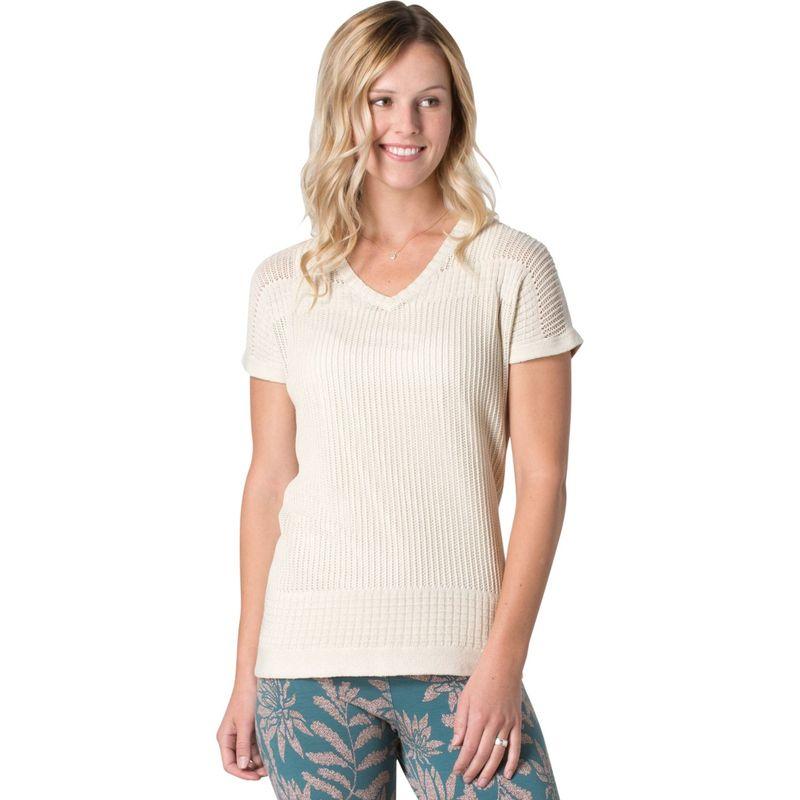 トードアンドコー レディース シャツ トップス Floreana Short Sleeve Sweater XS - Salt