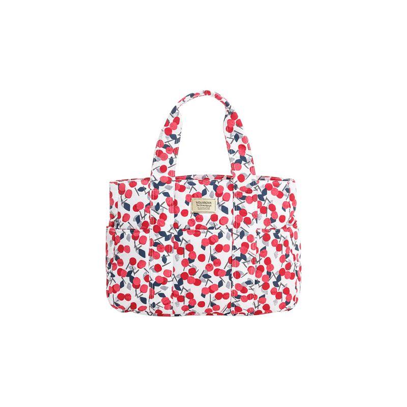 ヴォヴァロヴァ メンズ トートバッグ バッグ Carryall Tote Bag Cherry Love