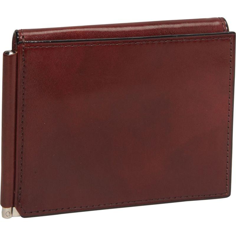 ボスカ メンズ 財布 アクセサリー Old Leather Money Clip w/Outside Pocket Dark Brown