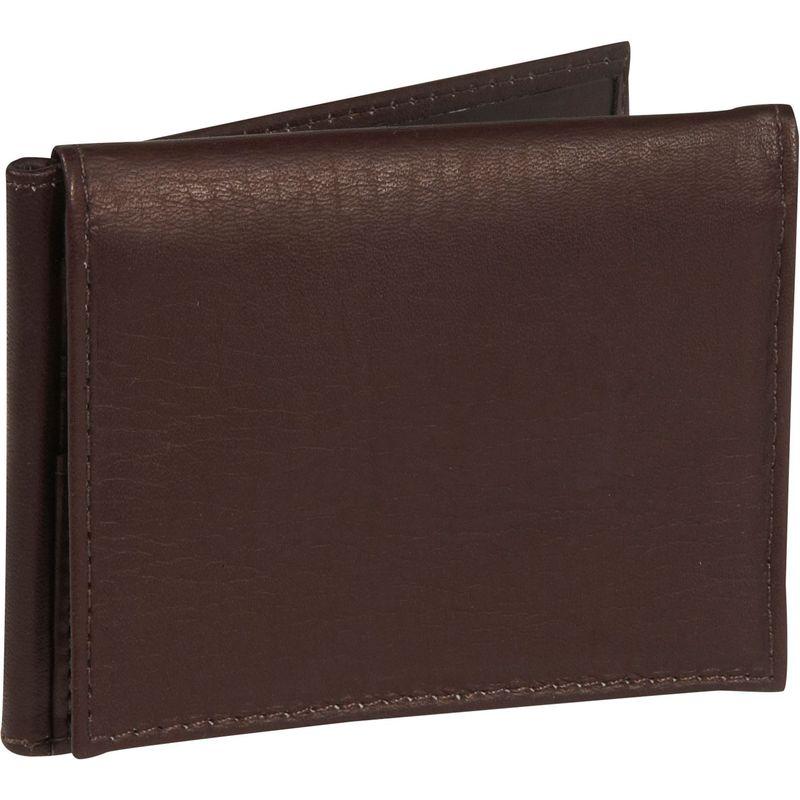 ピエール メンズ 財布 アクセサリー Bi-fold Clip w/ID Window Chocolate