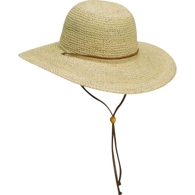 スカラハッツ メンズ 帽子 アクセサリー Crocheted Raffia One Size - Natural