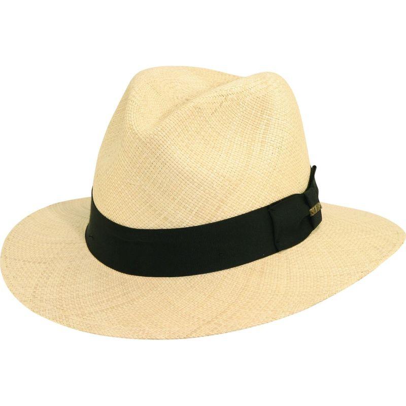 スカラハッツ メンズ 帽子 アクセサリー Panama Safari Hat S - Natural
