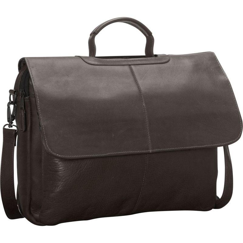 ラティコレザーズ メンズ スーツケース バッグ Liberty Laptop Brief Cafe