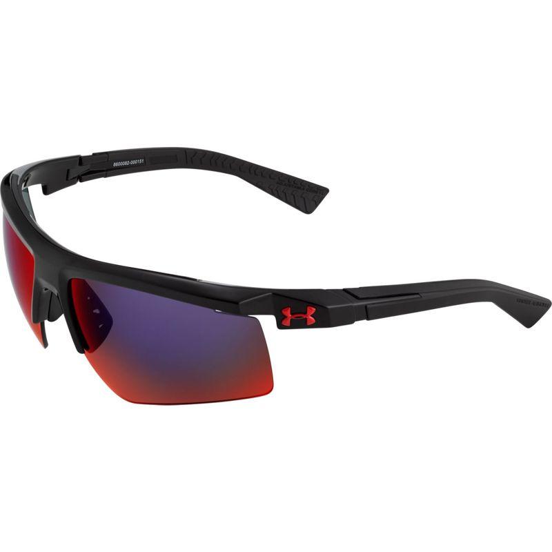 アンダーアーマー メンズ サングラス・アイウェア アクセサリー Core 2.0 Sunglasses Shiny Black/Gray Infrared Multiflection