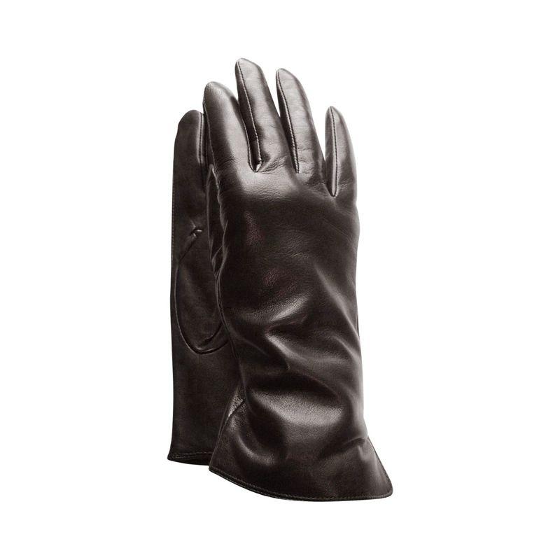タンナーアベニュー レディース 手袋 アクセサリー Premium Leather Gloves M - Espresso Brown