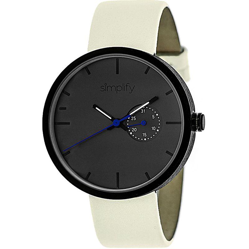 シンプリファイ メンズ 腕時計 アクセサリー 3900 Unisex Watch Eggshell/Charcoal