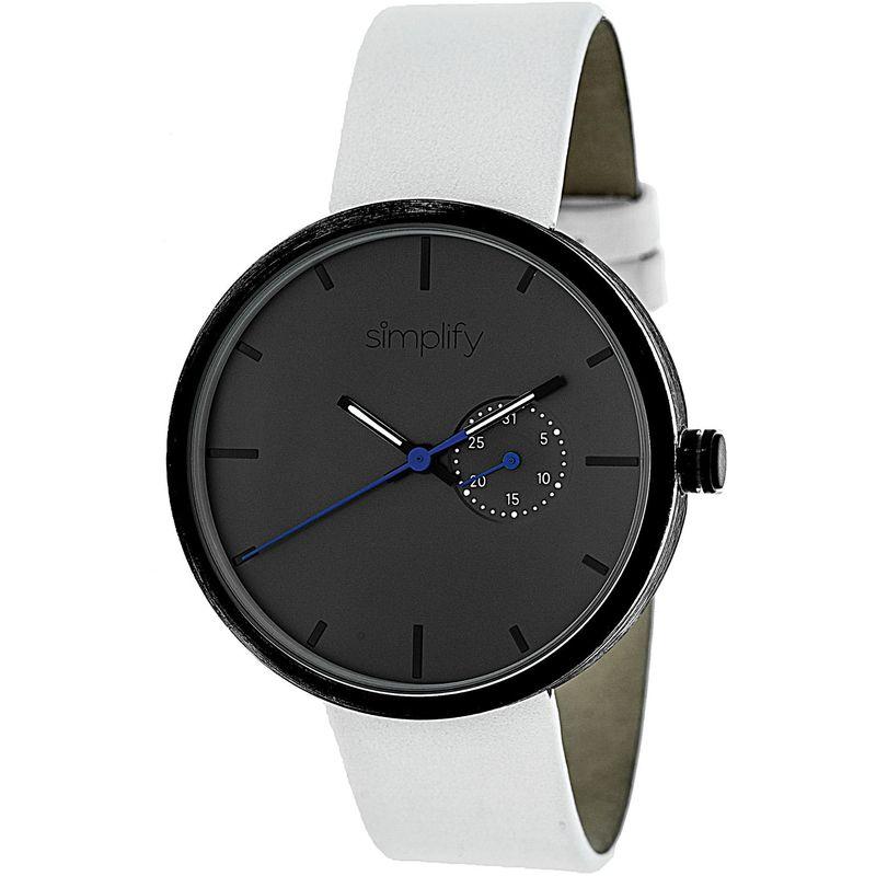 シンプリファイ メンズ 腕時計 アクセサリー 3900 Unisex Watch White/Charcoal