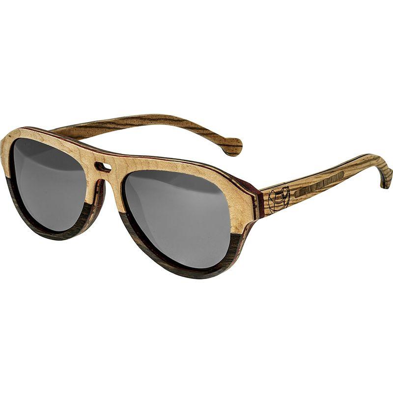 アースウッド メンズ サングラス・アイウェア アクセサリー Clearwater Wood Sunglasses Khaki/Brown