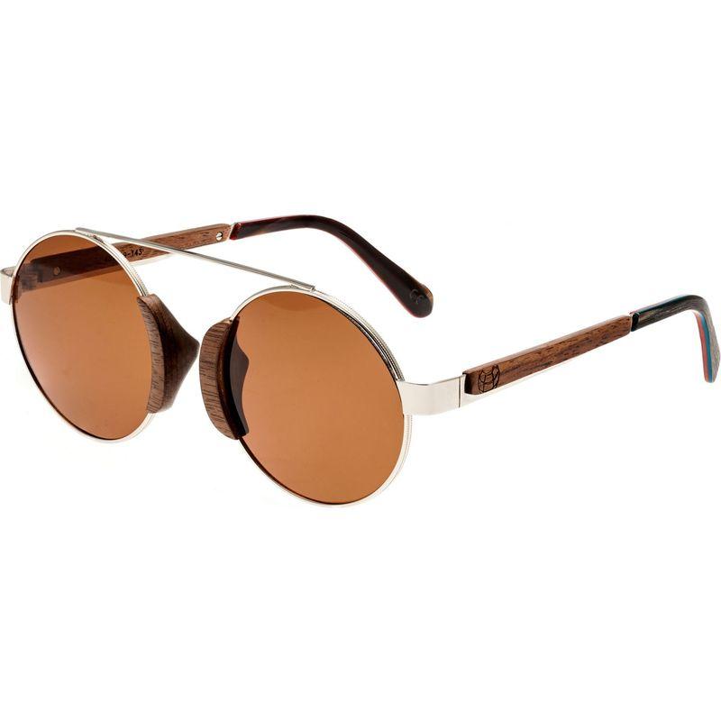 アースウッド メンズ サングラス・アイウェア アクセサリー Talisay Wood Sunglasses Brown