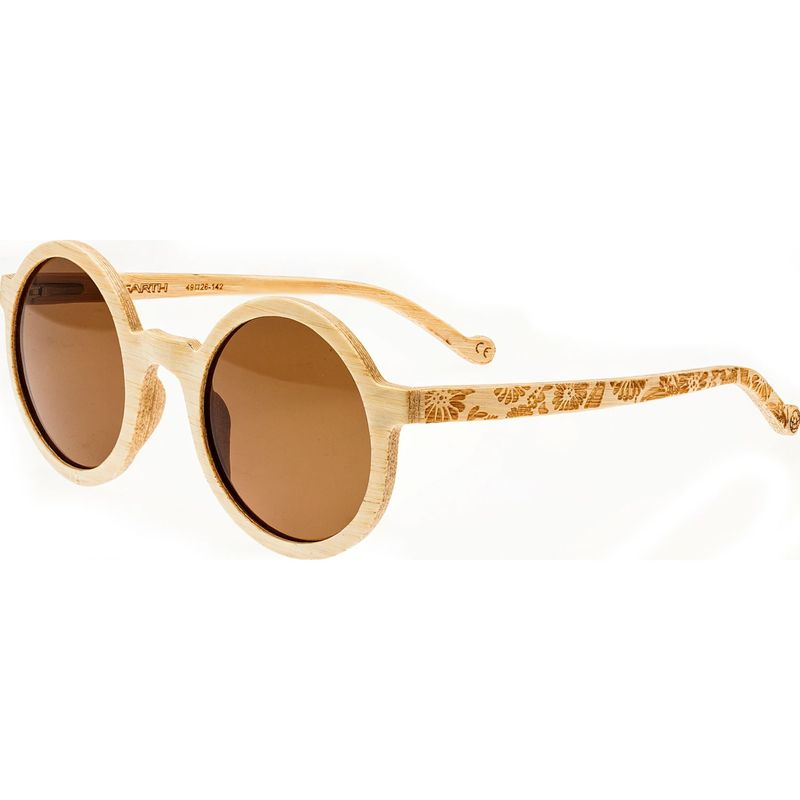 アースウッド メンズ サングラス・アイウェア アクセサリー Canary Wood Sunglasses Khaki
