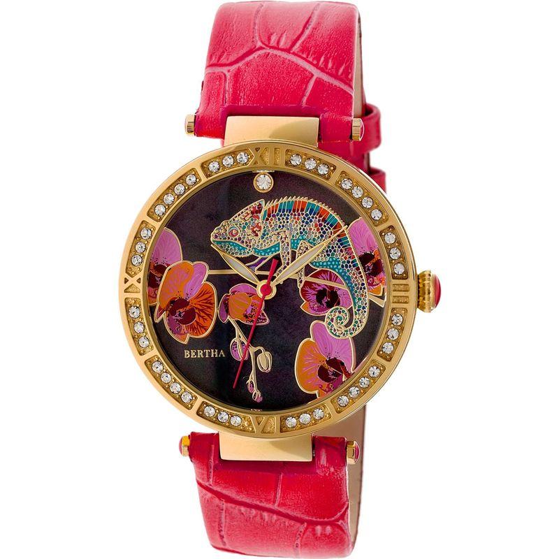 ベルサ メンズ 腕時計 アクセサリー Camilla Leather Ladies Watch Coral