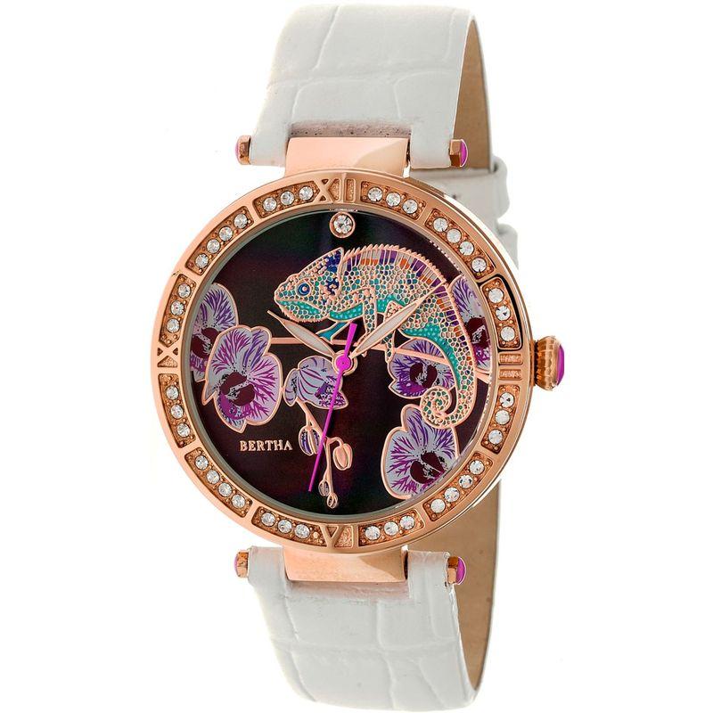 ベルサ メンズ 腕時計 アクセサリー Camilla Leather Ladies Watch White