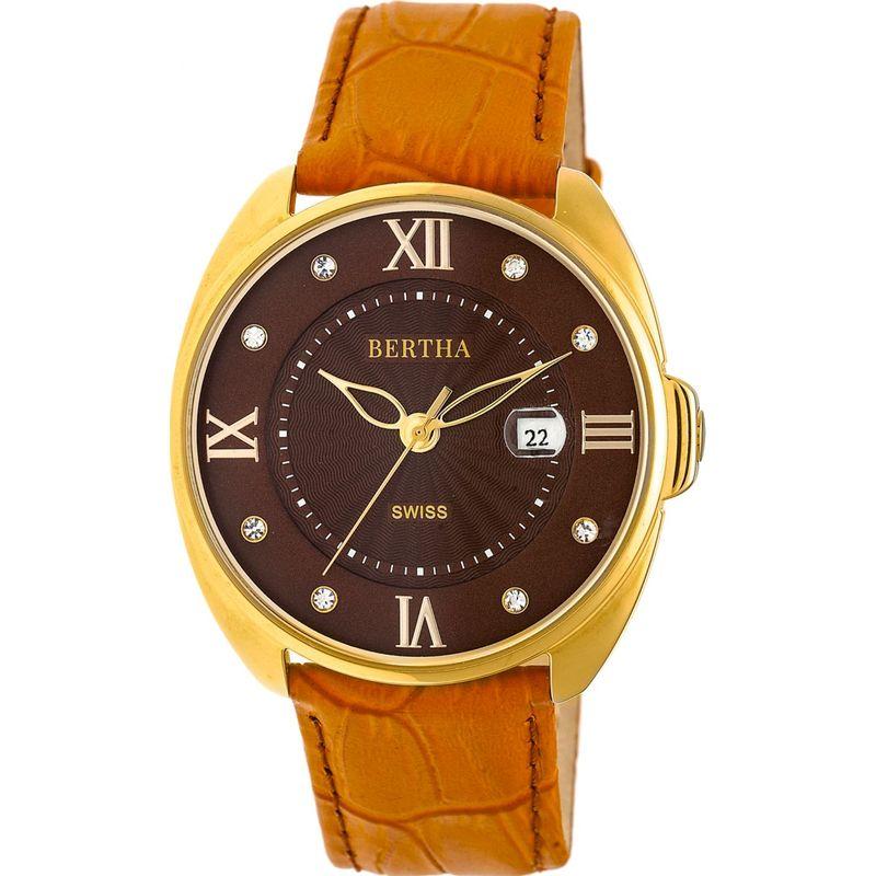 ベルサ メンズ 腕時計 アクセサリー Amelia Leather Ladies Watch Camel