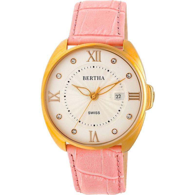 ベルサ メンズ 腕時計 アクセサリー Amelia Leather Ladies Watch Light Pink