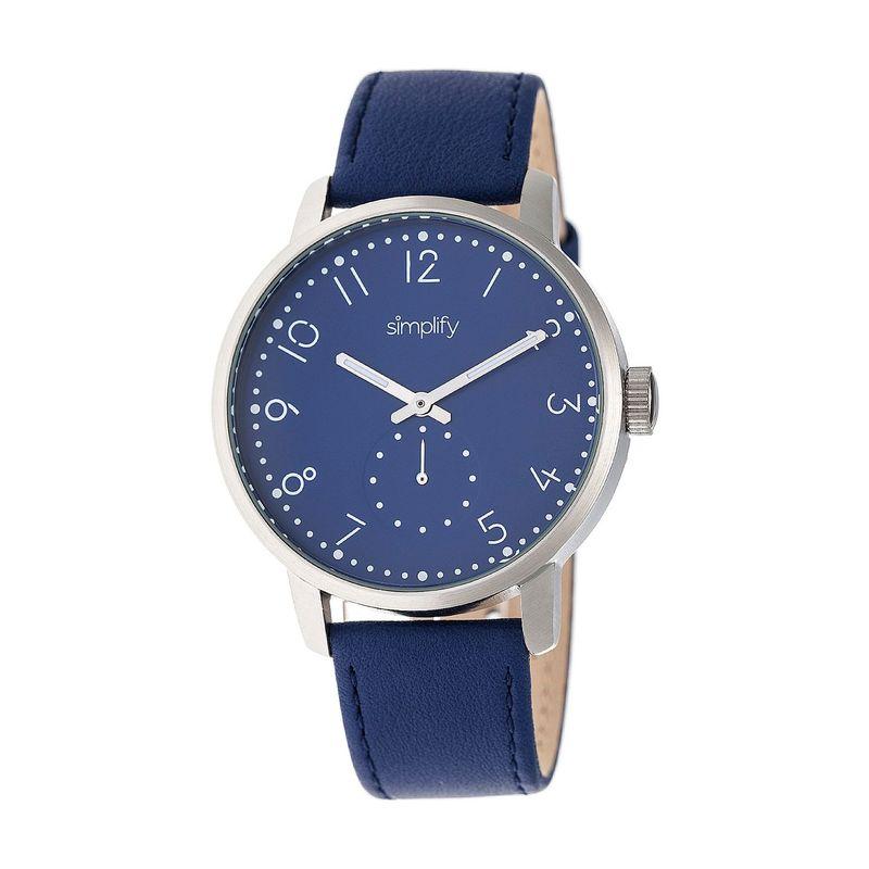 シンプリファイ メンズ 腕時計 アクセサリー The 3400 Unisex Watch Blue/Silver/Blue