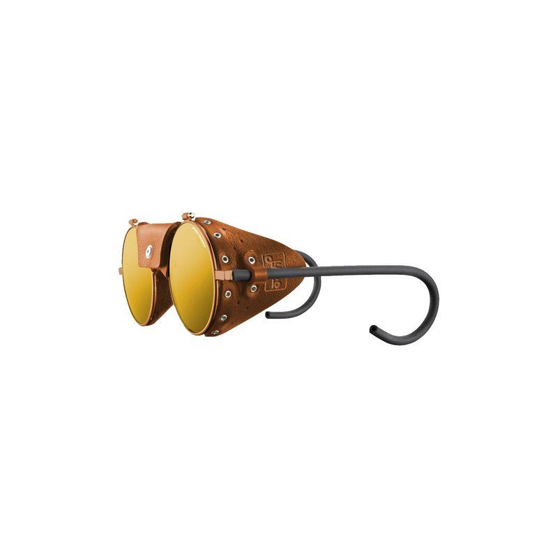 ジュルボ メンズ サングラス・アイウェア アクセサリー Vermont Classic Sunglasses Brass/Brown