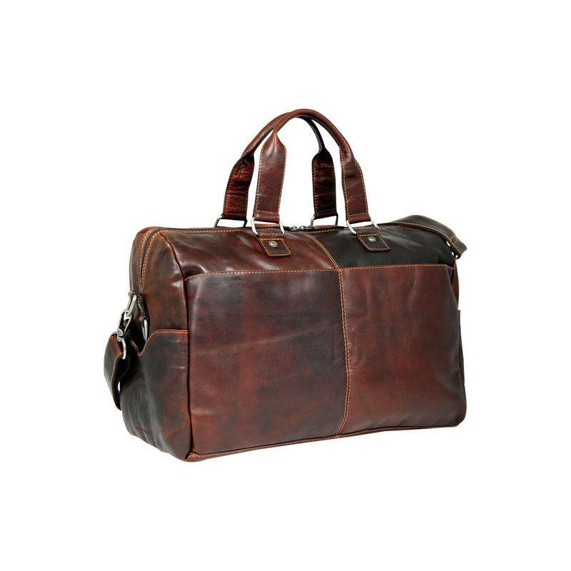 ジャックジョージス メンズ ボストンバッグ バッグ Voyager Cabin Bag Brown