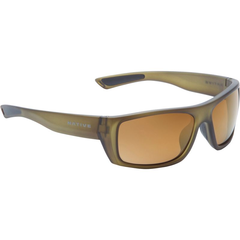 ネイティブアイウェア メンズ サングラス・アイウェア アクセサリー Distiller Sunglasses Matte Moss with Polarized Bronze Reflex