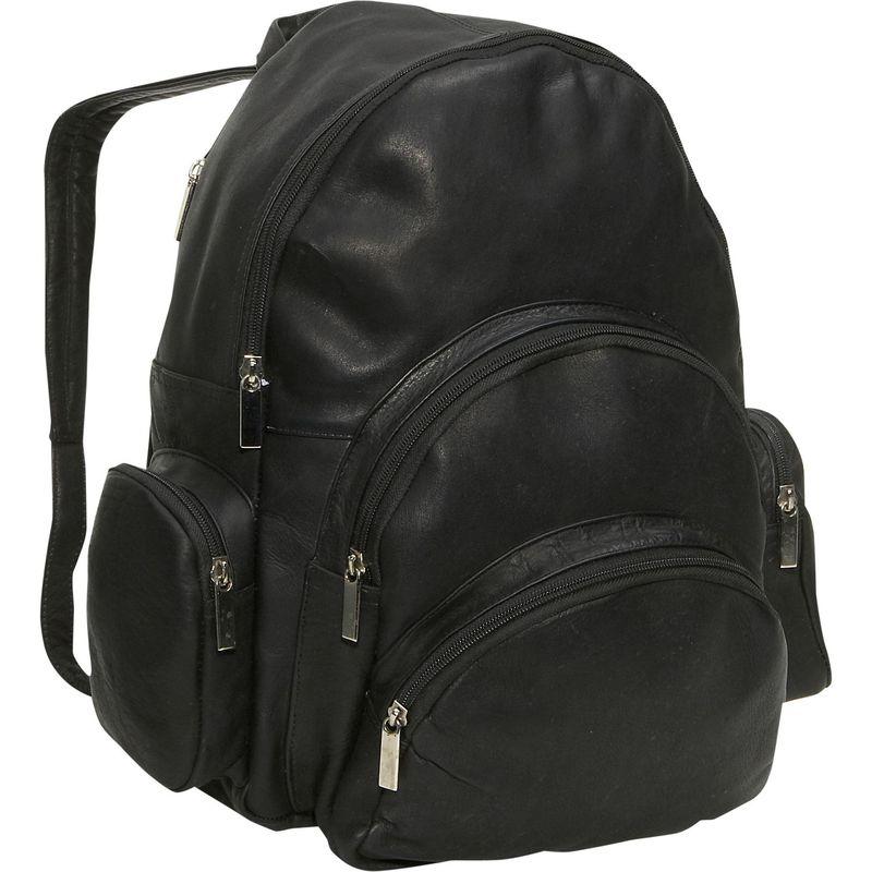 デビッドキング メンズ バックパック・リュックサック バッグ Expandable Backpack Black